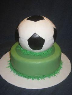 soccer By wendy1273 on CakeCentral.com Soccer Ball, Birthday, Birthdays, European Football, European Soccer, Soccer, Dirt Bike Birthday, Futbol, Birth Day