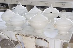 Gorgeous Ironstone tureens~ Vintage & Whiskers
