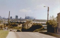 A view of the Steelworks from Moorside