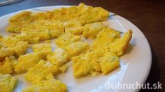 Fotorecept: Cuketová omeleta pre dojča