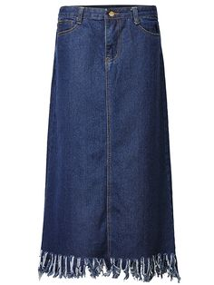 Specification:   Style:Vintage,Elegant   Season:Spring,Summer,Fall   Material:Denim Pattern:Pure Color   Length:Knee-Length    Packageincluded: 1* Skirt