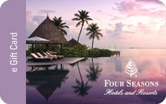 Give Dad: a trip to any Four Seasons in the world! #FathersDay