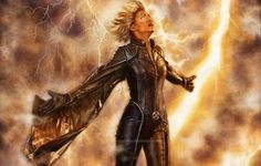 Halle Berry as Storm on X-Men Days Of Future Past