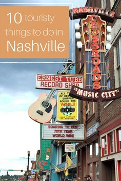 Music City USA. Nashville is full of live music, great food, lots of charm, and tons of history. There are the top 10 best things to do in Nashville, Tennessee!