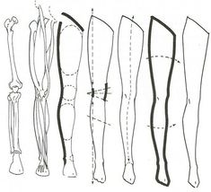 Drawing People How to draw legs Drawing Legs, Body Drawing, Anatomy Drawing, Anatomy Reference, Art Reference Poses, Drawing Reference, Fashion Figure Drawing, Creation Couture, Art Drawings Sketches
