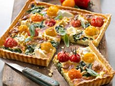 Quiches, Cooking Recipes, Healthy Recipes, I Foods, Vegetable Pizza, Pasta Salad, Food Inspiration, Entrees, Main Dishes