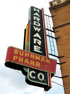 Buhrman Pharr Hardware Co. Texarkana, Arkansas