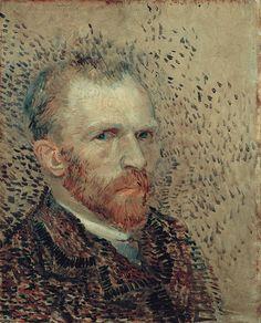 Self-Portrait, 1887  Vincent van Gogh (1853-1890)        Oil on Pasteboard, 41 x 33 cm      Van Gogh Museum, Amsterdam