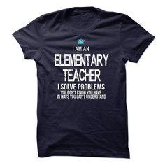 I am an Elementary Teacher - #shirt style #sweater pattern. WANT => https://www.sunfrog.com/LifeStyle/I-am-an-Elementary-Teacher-17777770-Guys.html?68278