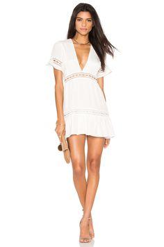STONE_COLD_FOX Verona Dress in White