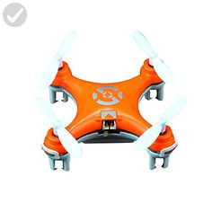 Cheerson CX-10 Mini 2.4G 4CH 6 Axis LED RC Quadcopter Toy Drone - Toys for little kids (*Amazon Partner-Link)