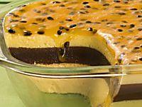Mousse de maracujá   Culinária, Destaque, Doces