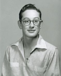 Buddy Holly, 1955, Lubbock High School. I taught at LHS for 24 years. They now have a plaque over his home room.