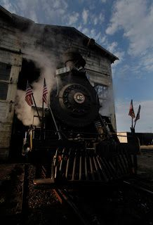Skunk Train at Fort Bragg, California