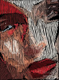Studio Portrait In Pencil 42 Digital Art by Rafael Salazar