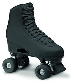 ROLLER SKATES - ARTISTIC BLACK RC1 Available now at shop.roces.com Upper: ECOleather Sole: PVC Footbed: anatomical Closure: flat laces Frame: PP Truck: PP Stopper: PU Wheels: PU 54x32mm/85A Bearings: ABEC 5 Available now at shop.roces.com
