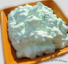 PISTACHIO COTTON CANDY SALAD ~ 1 pkg instant Pistachio Pudding, 1 pint cottage cheese, 8 oz whipped topping, 1 small can crushed pineapple drained, 1/2 bag mini marshmallows. Mix pudding, cottage cheese, pineapple, & marshmallows together. Fold in the whipped topping. Refrigerate or just eat!