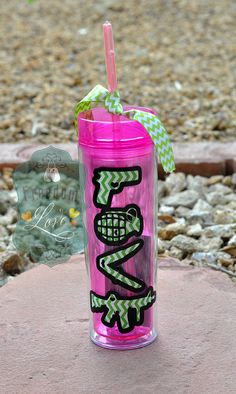 "Use Code ""PINTERESTLOVE"" to save 15%. Ammo Love Skinny Tumbler - Ready to Ship, Air Force Wife, Marine Wife, Army Wife, Marine Girlfriend, Army Girlfriend, Tumbler, Acrylic Cup, USMC, US Army, USAF"