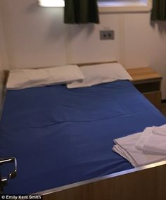 A cabin on the RFA Wave Knight...