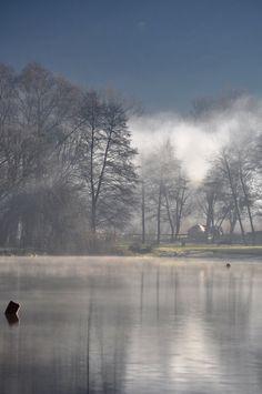 HEART... ORFU SMALL LAKE IN WINTER 2015 jan Martina Jegenyés
