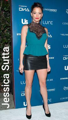 Black Leather Mini Skirt, Leather Skirt, Nylons, Nice Legs, Minis, Fall Outfits, Peplum Dress, German, Women's Fashion