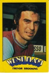 Nigel's Webspace - English Football Cards to Trevor Brooking, West Ham United Fc, Chewing Gum, Football Cards, English, The Unit, Red, Soccer Cards, English Language