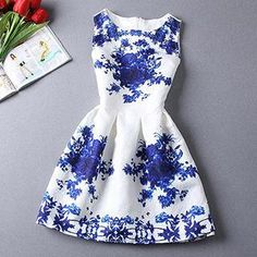 Floral Jacquard Tea Dress. Back to School SALE at YesStyle.com get up to 60% off fashion and accessories. Use coupon BTS10 to get $10 off $99 on your purchase!