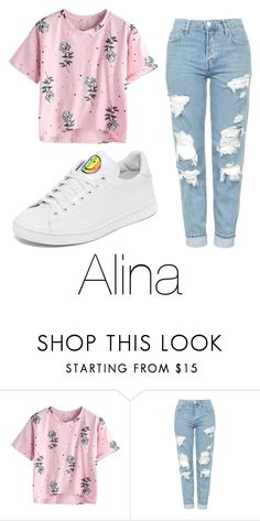 """""""Untitled #85"""" by halissiaelviracra on Polyvore featuring Topshop and Joshua's"""