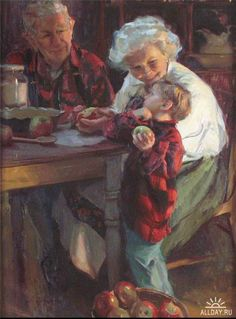 Kai Fine Art is an art website, shows painting and illustration works all over the world. Paintings I Love, Beautiful Paintings, Gif Animé, Norman Rockwell, Mail Art, Oeuvre D'art, Painting & Drawing, Vintage Art, Art For Kids