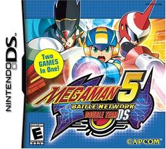 Mega Man Battle Network 5 Double Team - Nintendo DS for sale online Team Games, Ds Games, Xbox One, Mega Man 5, Save The Internet, Classic Rpg, Star Force, Nintendo Ds Lite, Nintendo Switch