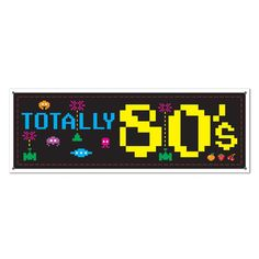 Get Nerdy 80/'s Pixel Retro Nerd Kids Birthday Party Paper Beverage Napkins