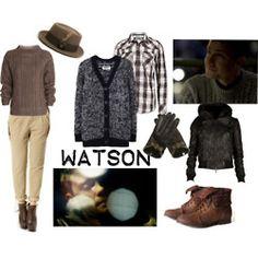 John Watson-inspired clothing. You might win a BAFTA.