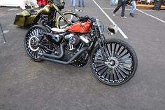 "26"" inch Custom Motorcycle Wheel Rim for Harley Davidson Sportster"