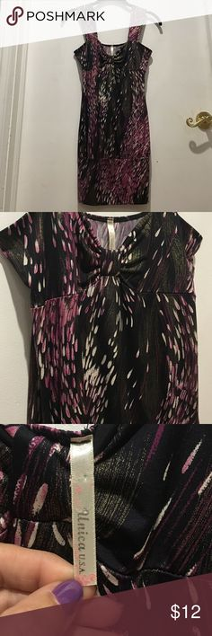 Top/mini dress black, cream, purple-pink, gold Top/mini dress black, cream, purple-pink, gold this is so pretty. Can definitely be worn as a top could also be worn with leggings and stockings or can be thrown on with a pair of jeans or with nothing but some heels or sandals... dress it up... dress it down...the skies the limit with this... it's so pretty in person the pictures do you no justice. Unica Tops Tunics