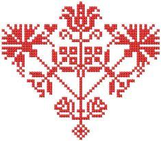 Cross Stitch heart free embroidery design - Cross stitch machine embroidery - Machine embroidery community