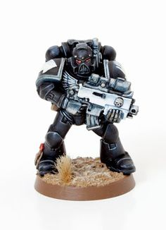 Tutorial: How to paint Iron Hands Space Marines - Tale of Painters