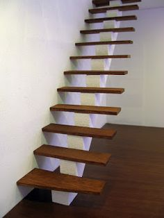 Miniature Tutorials - Modern Stairs
