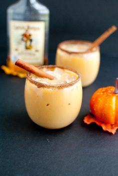 Pumpkin Spiked Horchata + fall in love with these 9 autumn cocktail recipes