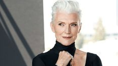 CoverGirl Brings Age Diversity to Its Roster with Model Maye Musk. The cosmetics company seems to be on a bit of a hiring spree at the moment. Maye Musk, Covergirl Cosmetics, Old Mother, Cosmetic Companies, Img Models, Vintage Music, New Face, Grey Hair, 30