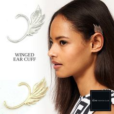 TEFC Winged Ear Cuff | Use this exclusive code: PINTEREST05 for 5% off all fashion products @ theelitefashionclub.storenvy.com
