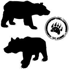 Urso vector art illustration