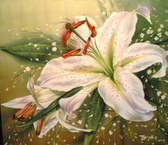 Изысканная живопись на шелке Елены Тенер. | Наслаждение творчеством
