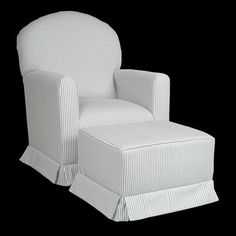 Lullaby Glider Rocker and Ottoman from Target $349.99 + $99.99 for the ottoman.