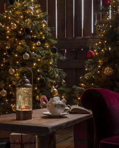 Nydelig, tung vannfylt lykt med integrerte varmhvite LED lyskilder og glitter som minner oss om gamle dager og gir oss den magiske følelsen av julen som står for tur. Lykten er i matt gull farge og har motiv av en rød bil og grantrær. Den er utstyrt med vifte slik at du skal slippe å riste den hver gang du ønsker den i gang. I tillegg til dette har lykten timer, slik at den automatisk slår seg av etter 5 timer. Christmas Tree, Holiday Decor, Design, Home Decor, Teal Christmas Tree, Decoration Home, Room Decor, Xmas Trees