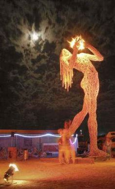 burning man art installations - Google Search