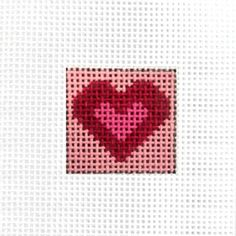 Painted Mini Canvas - Heart (Pre-Order)