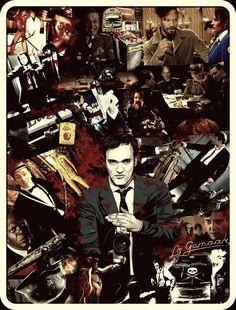 Quentin Tarantino Collage