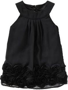Chiffon Rosette Dresses for Baby, $29.94 (Scott's wedding)