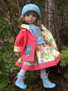 """~WOODLAND WONDERS!~by Tuula fits Dianna Effner 13"""" Little Darling to a """"t""""!"""
