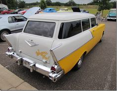 1957 Chevy 2 door wagon
